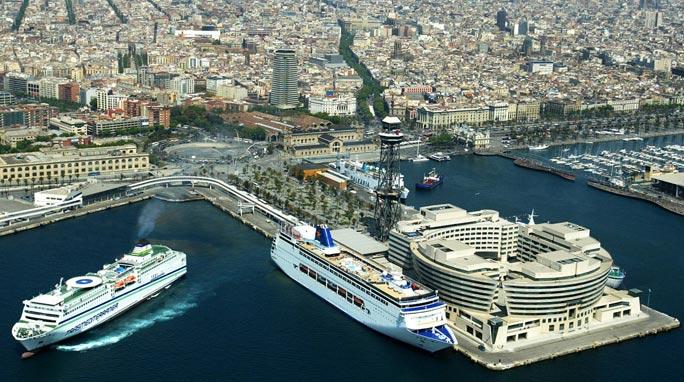 Cruise Ship Barcelona